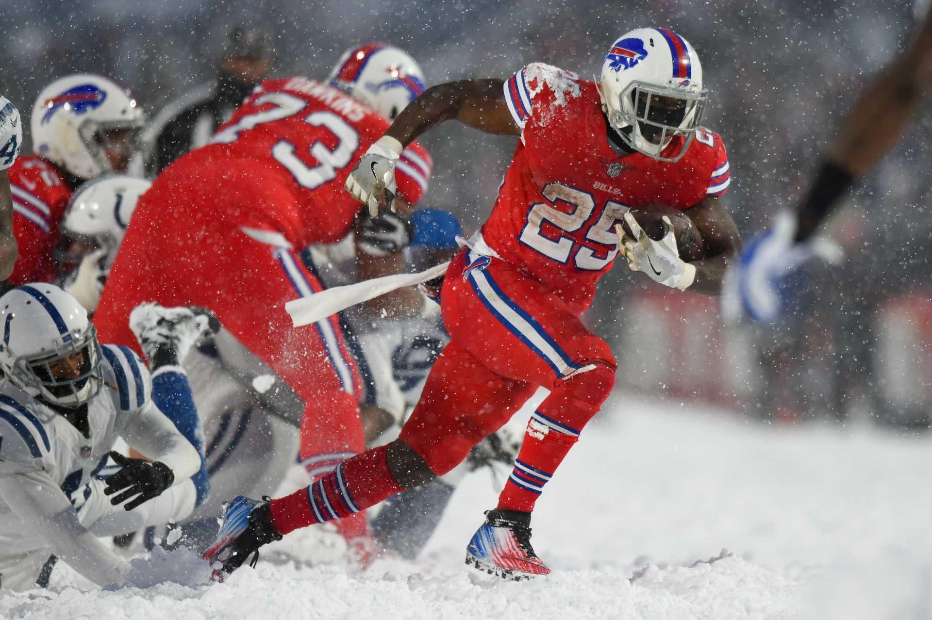 """Colts at Bills - """"Snow Bowl"""""""